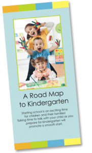 A Roadmap to Kindergarten brochure